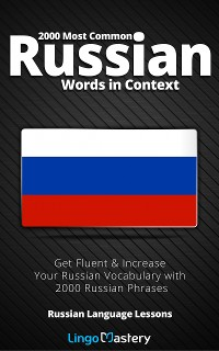 Cover 2000 Most Common Russian Words in Context
