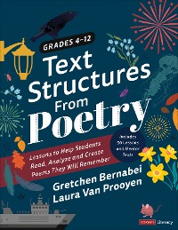 Cover Text Structures From Poetry, Grades 4-12