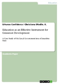 Cover Education as an Effective Instrument for Grassroot Development