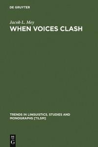 Cover When Voices Clash