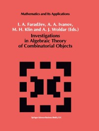 Cover Investigations in Algebraic Theory of Combinatorial Objects