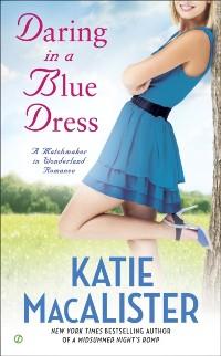 Cover Daring In a Blue Dress