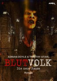 Cover BLUTVOLK, Band 2: DIE NEUE RASSE