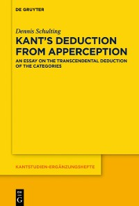 Cover Kant's Deduction From Apperception
