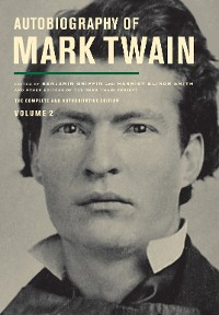 Cover Autobiography of Mark Twain, Volume 2