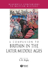 Cover A Companion to Britain in the Later Middle Ages