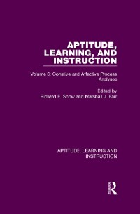 Cover Aptitude, Learning, and Instruction