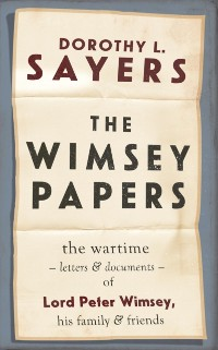 Cover Wimsey Papers