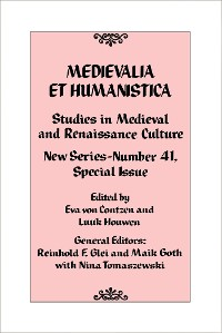 Cover Medievalia et Humanistica, No. 41