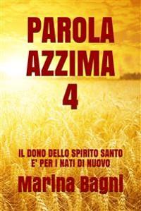 Cover Parola Azzima 4