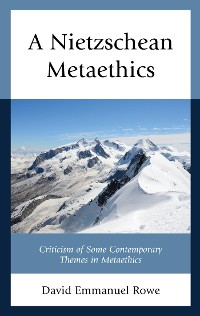 Cover A Nietzschean Metaethics