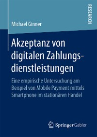 Cover Akzeptanz von digitalen Zahlungsdienstleistungen