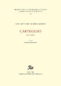 Cover Carteggio