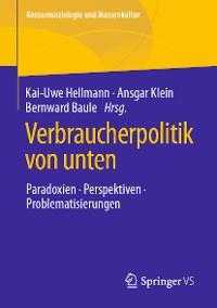 Cover Verbraucherpolitik von unten