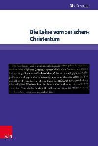 Cover Die Lehre vom »arischen« Christentum