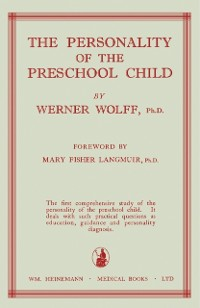 Cover Personality of the Preschool Child