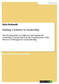 Cover Finding a Solution to Leadership