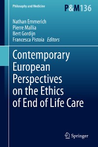 Cover Contemporary European Perspectives on the Ethics of End of Life Care