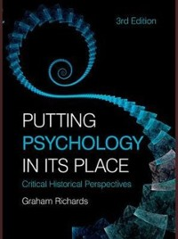 Cover Putting Psychology in its Place