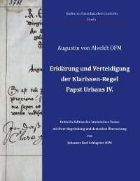 Cover Erklärung und Verteidigung der Klarissen-Regel Papst Urbans IV.