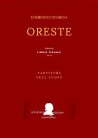 Cover Cimarosa: Oreste (Partitura - Full Score)