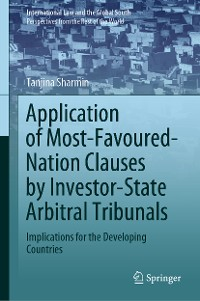 Cover Application of Most-Favoured-Nation Clauses by Investor-State Arbitral Tribunals