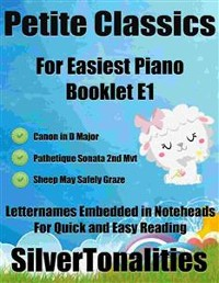 Cover Petite Classics for Easiest Piano Booklet E1