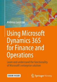 Cover Using Microsoft Dynamics 365 for Finance and Operations
