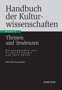 Cover Handbuch der Kulturwissenschaften