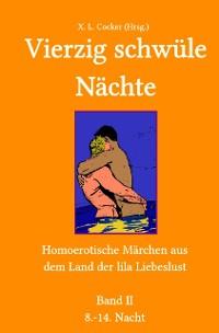 Cover Vierzig schwüle Nächte 2