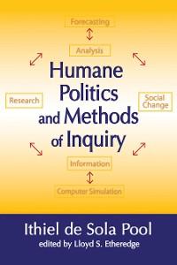 Cover Humane Politics and Methods of Inquiry