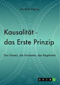 Cover Kausalität - Das Erste Prinzip