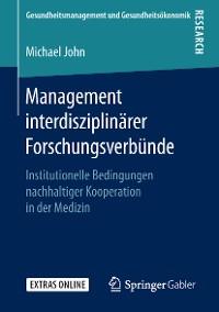 Cover Management interdisziplinärer Forschungsverbünde