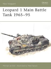 Cover Leopard 1 Main Battle Tank 1965 95