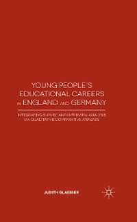 Cover Young People's Educational Careers in England and Germany