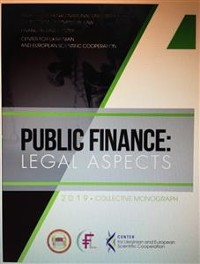 Cover Public Finance: Legal Aspects
