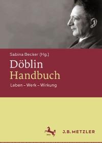 Cover Döblin-Handbuch