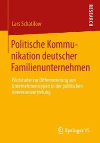 Cover Politische Kommunikation deutscher Familienunternehmen