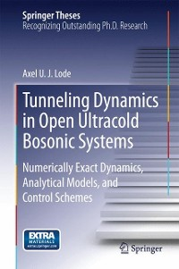 Cover Tunneling Dynamics in Open Ultracold Bosonic Systems