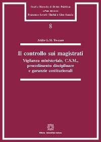 Cover Il controllo sui magistrati