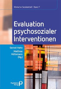 Cover Evaluation psychosozialer Interventionen