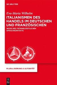 Cover Italianismen des Handels im Deutschen und Französischen