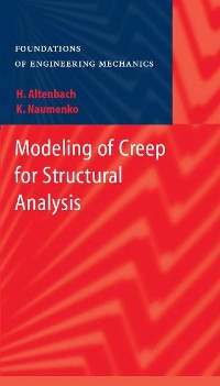 Cover Modeling of Creep for Structural Analysis