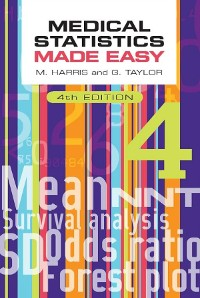 Cover Medical Statistics Made Easy, fourth edition