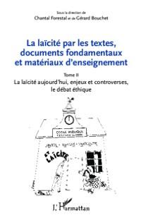 Cover La laicite par les textes, documents fondamentaux et materiaux d'enseignement 02