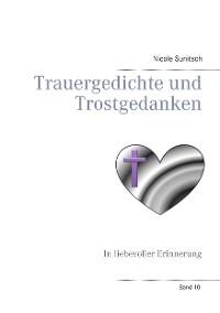 Cover Trauergedichte und Trostgedanken
