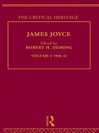 Cover James Joyce.  Volume 2: 1928-41