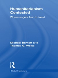 Cover Humanitarianism Contested