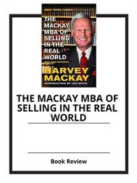 Cover The Mackay MBA of Selling in the Real World