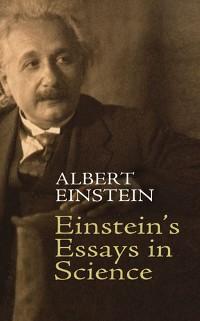 Cover Einstein's Essays in Science